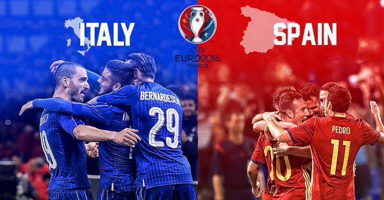 Ponturi pariuri – Italia – Spania – Euro 2016 – Optimi de finală