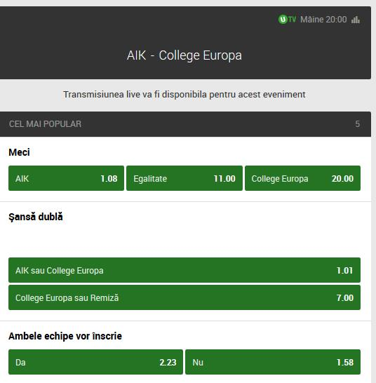 AIK Unibet