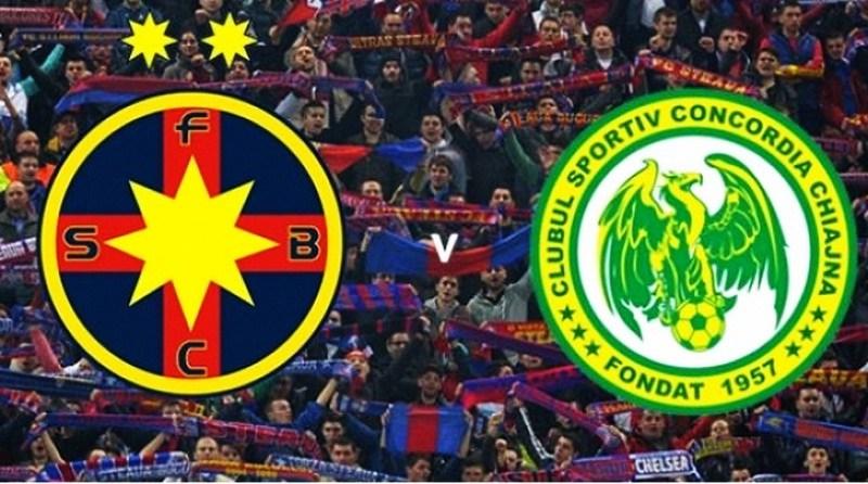 Ponturi pariuri – Steaua Bucureşti – Concordia Chiajna – Finala Cupei Ligii