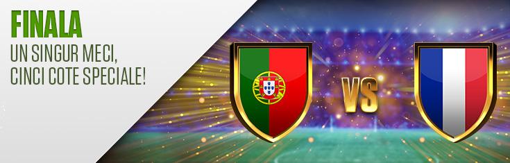 Top promotii la pariuri online pentru finala Portugalia - Franta de la Euro 2016