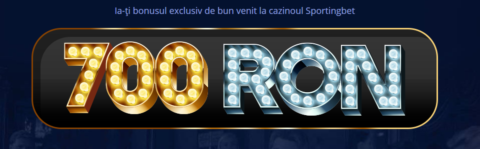 Sportingbet cazino online - 700 RON bonus