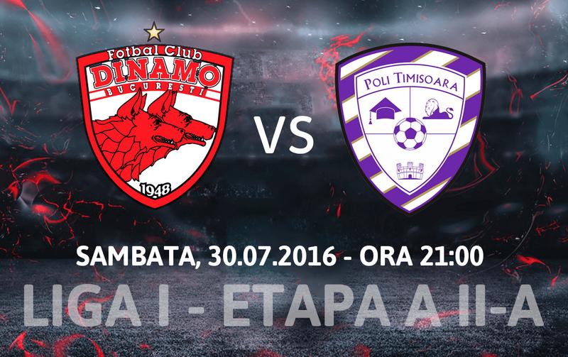 Dinamo Bucureşti vs ACS Poli Timişoara