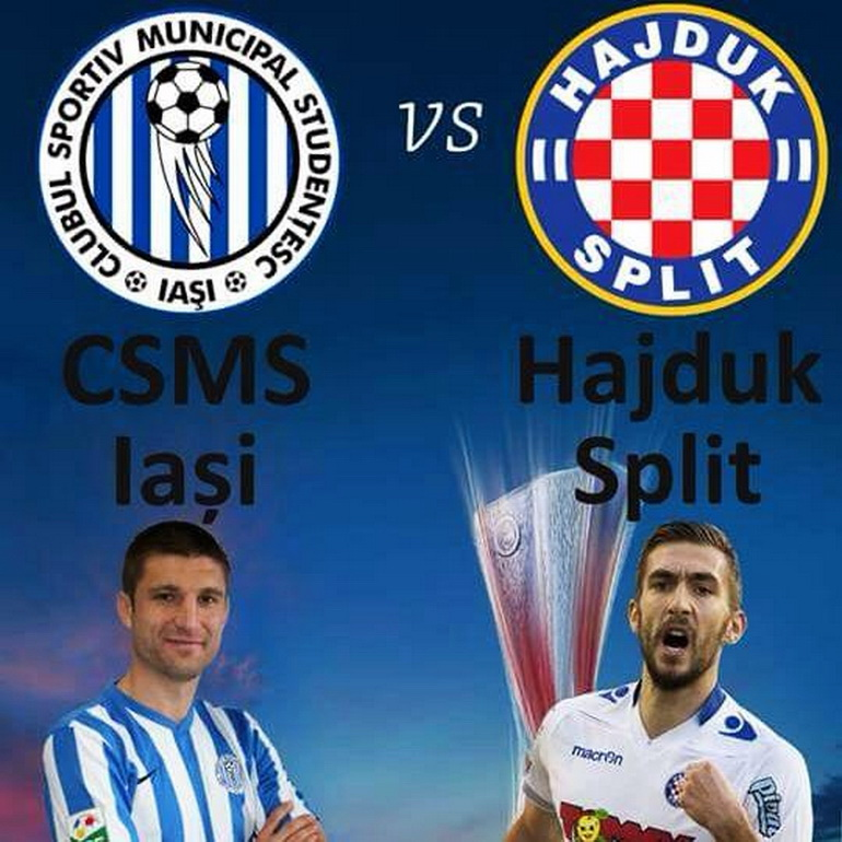 CSMS Iaşi - Hajduk Split