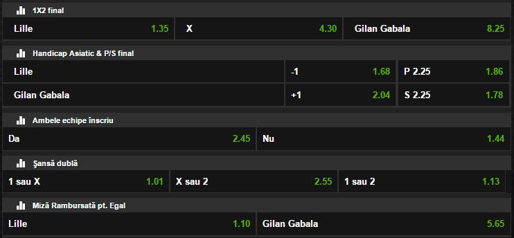 Lille - Gabala