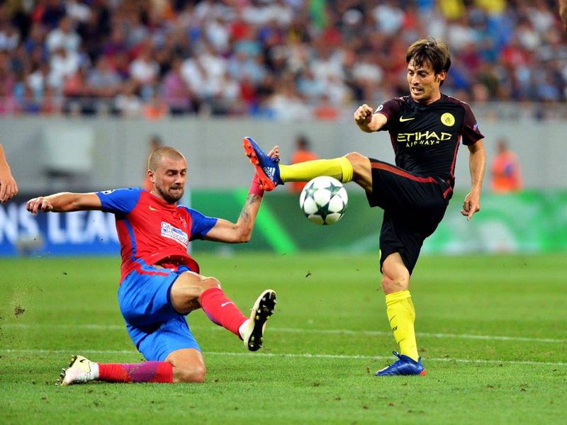 Manchester City vs Steaua Bucureşti