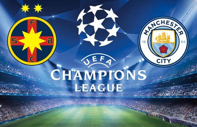 Steaua Bucureşti vs Manchester City