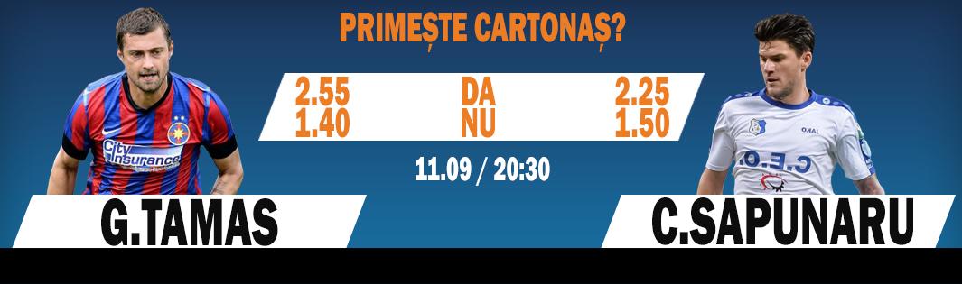 Steaua – Astra: Fii Winner si pariaza pe cartonase!