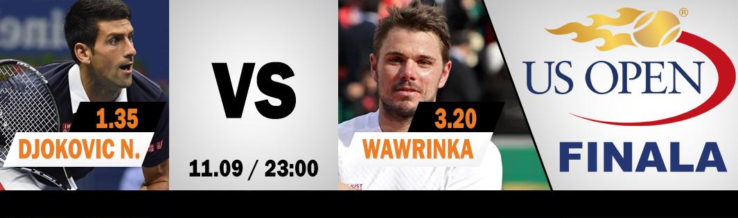 Djokovic – Wawrinka: Cotele Winner pentru finala US Open!