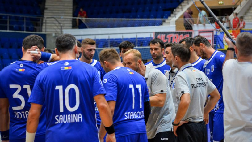 CSM Bucuresti pierde dramatic calificarea in turul 3 preliminar din Cupa EHF