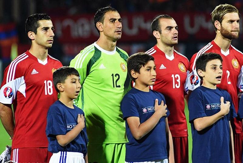 Lotul Armeniei pentru meciul cu România
