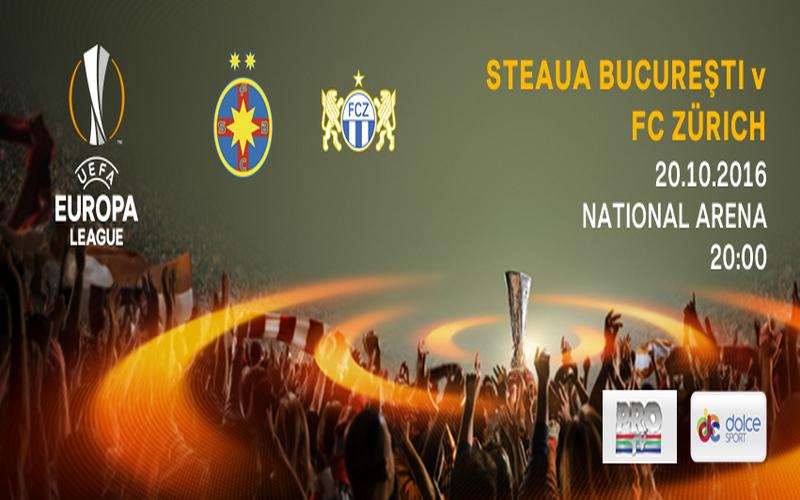 Steaua Bucureşti - FC Zürich