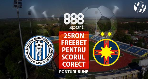 Castigatorii concursului scor corect Iasi – Dinamo la 888