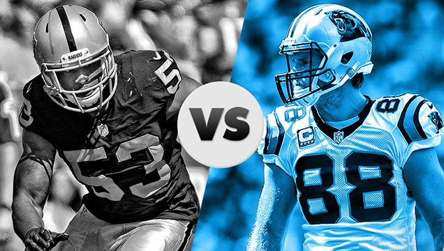 Raiders si Panthers