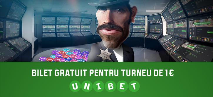 Obtine un bilet de 1 euro la un turneu de poker