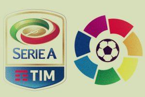 La Liga si Serie A iti aduc 10 RON pentru fiecare gol