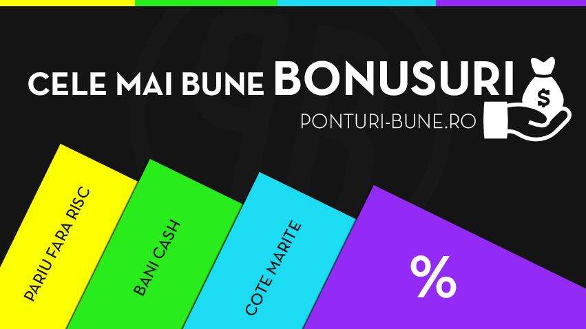 Cele mai bune bonusuri la pariuri online