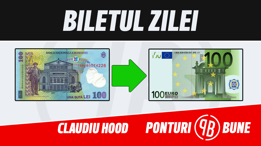 Biletul Champions League – Claudiu Hood