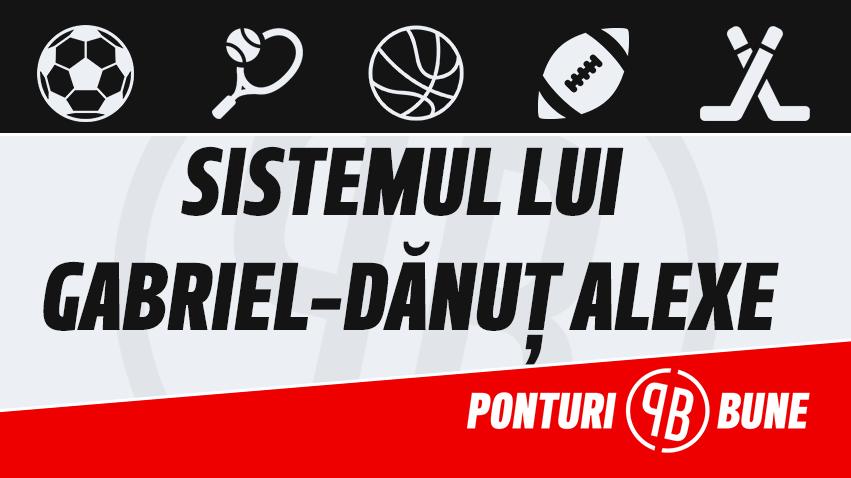 Sistemul lui Gabriel-Danut Alexe: Plan de joc pariuri cu risc la 4 duble consecutiv pierdute