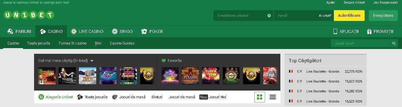 Cele mai bune 5 cazinouri online in 2017