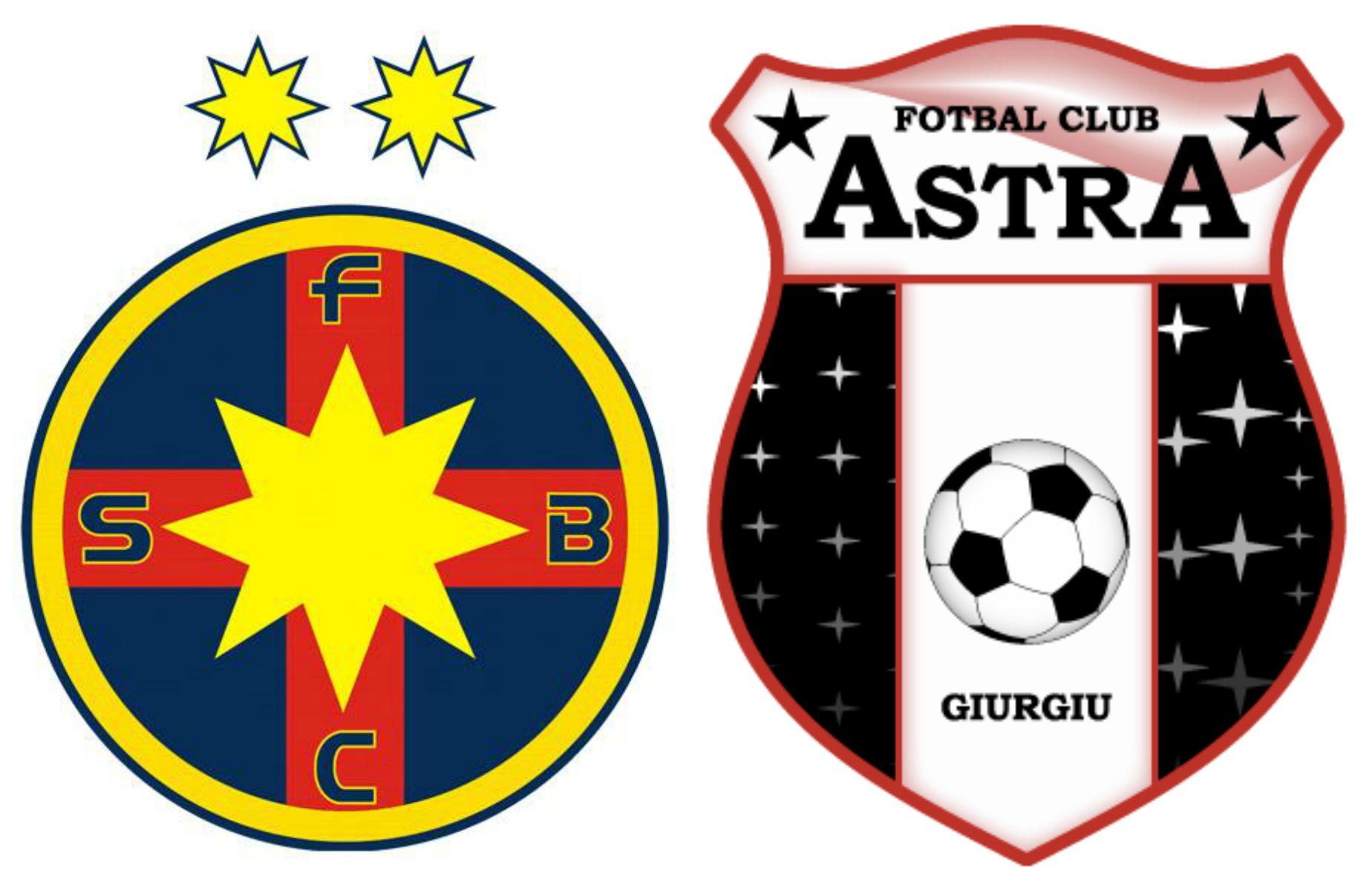 Ponturi Fotbal FCSB – Astra Giurgiu – România Liga 1 play-off