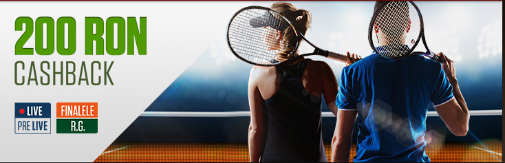 Rambursare de 200 RON la finalele Roland Garros