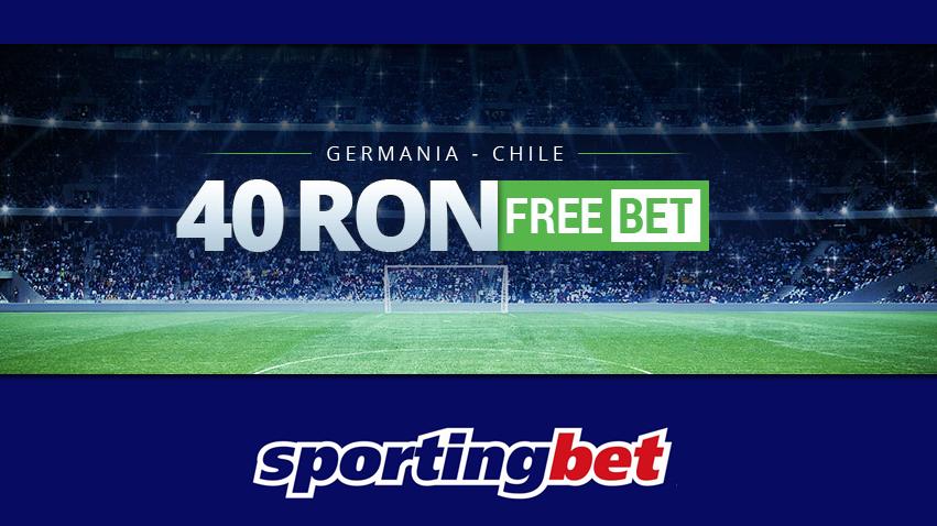 40 RON freebet la Germania – Chile