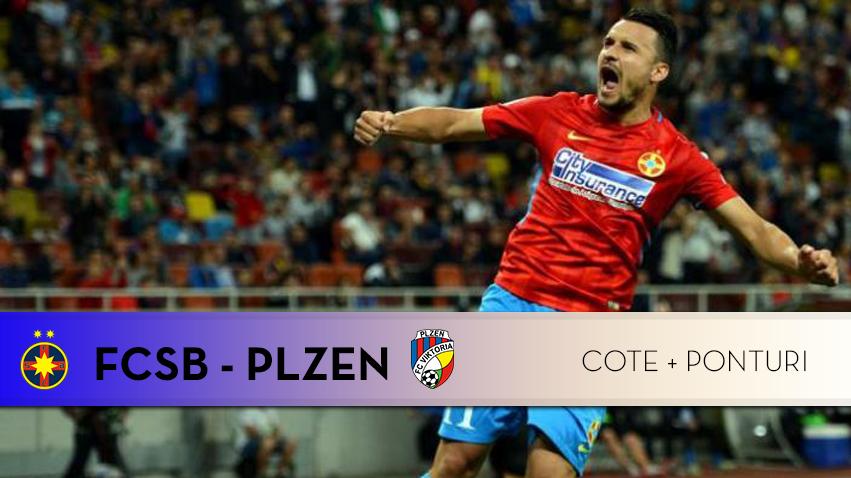 FCSB – Plzen: cote pariuri si 3 ponturi speciale