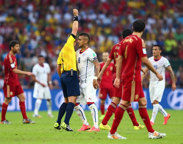 Pariuri speciale – Va scapa Arturo Vidal fara cartonas in finala Cupei Confederatilor?
