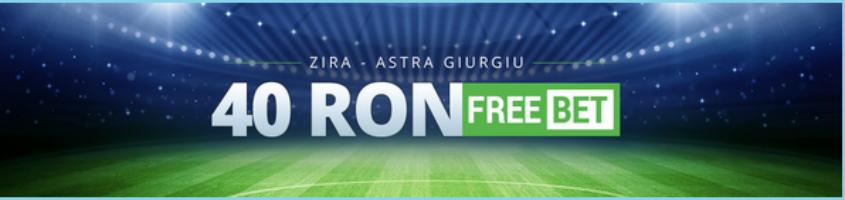 Asigurare de 40 RON la Zira vs Astra