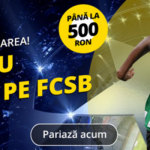 Castiga un freebet de 500 RON la FCSB vs Sporting