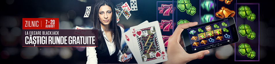 Fiecare blackjack obtinut iti aduce runde gratuite