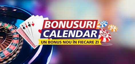 In fiecare zi ai un nou bonus special la casino