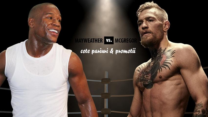 Mayweather – McGregor: cotele la pariuri