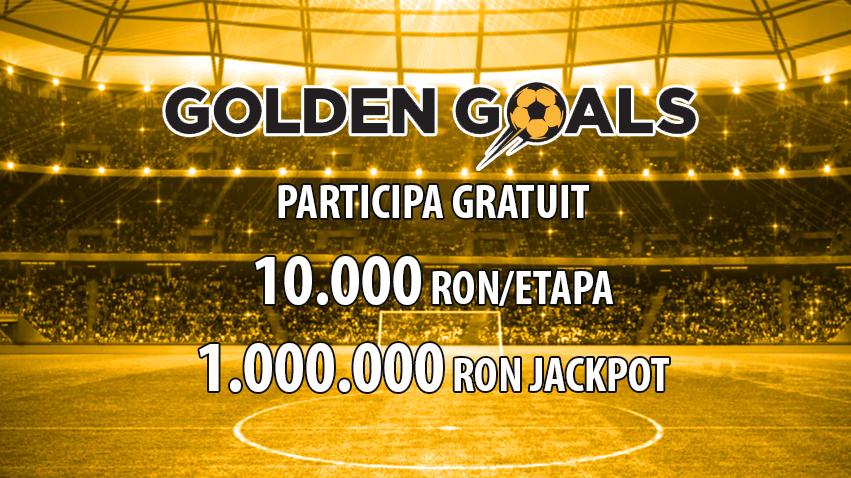 Participa GRATUIT la Golden Goals si poti castiga peste un milion de lei