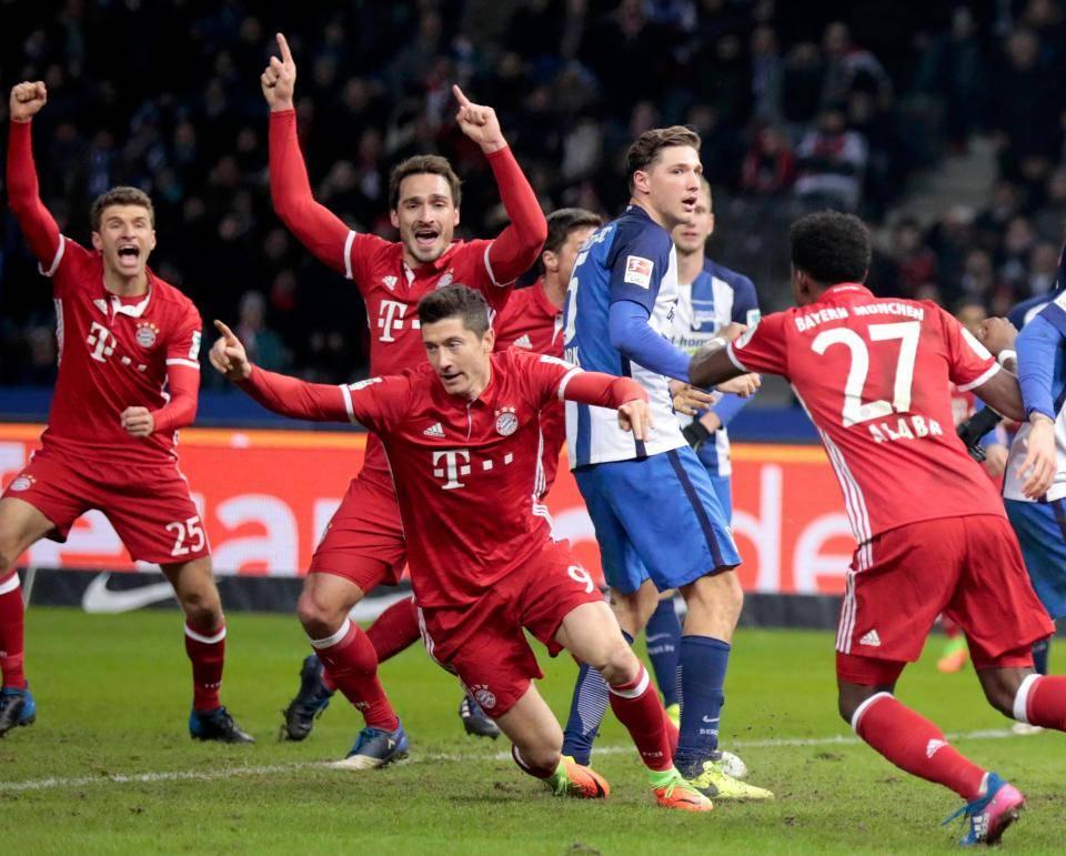 Ponturi fotbal Hertha – Bayern – Bundesliga