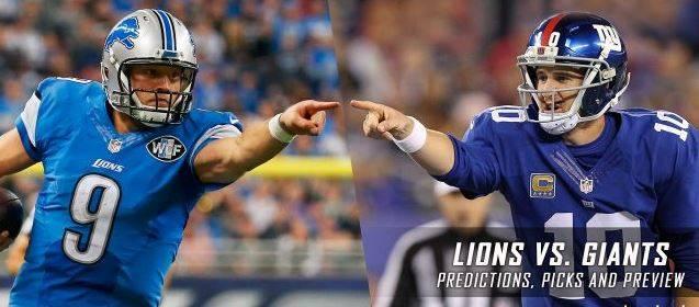 Ponturi NFL: Monday Night Football propune meciul dintre Giants si Lions!