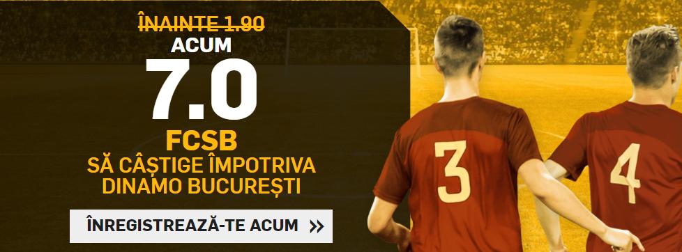 Cota 7 pentru victoria FCSB in Derby de Romania