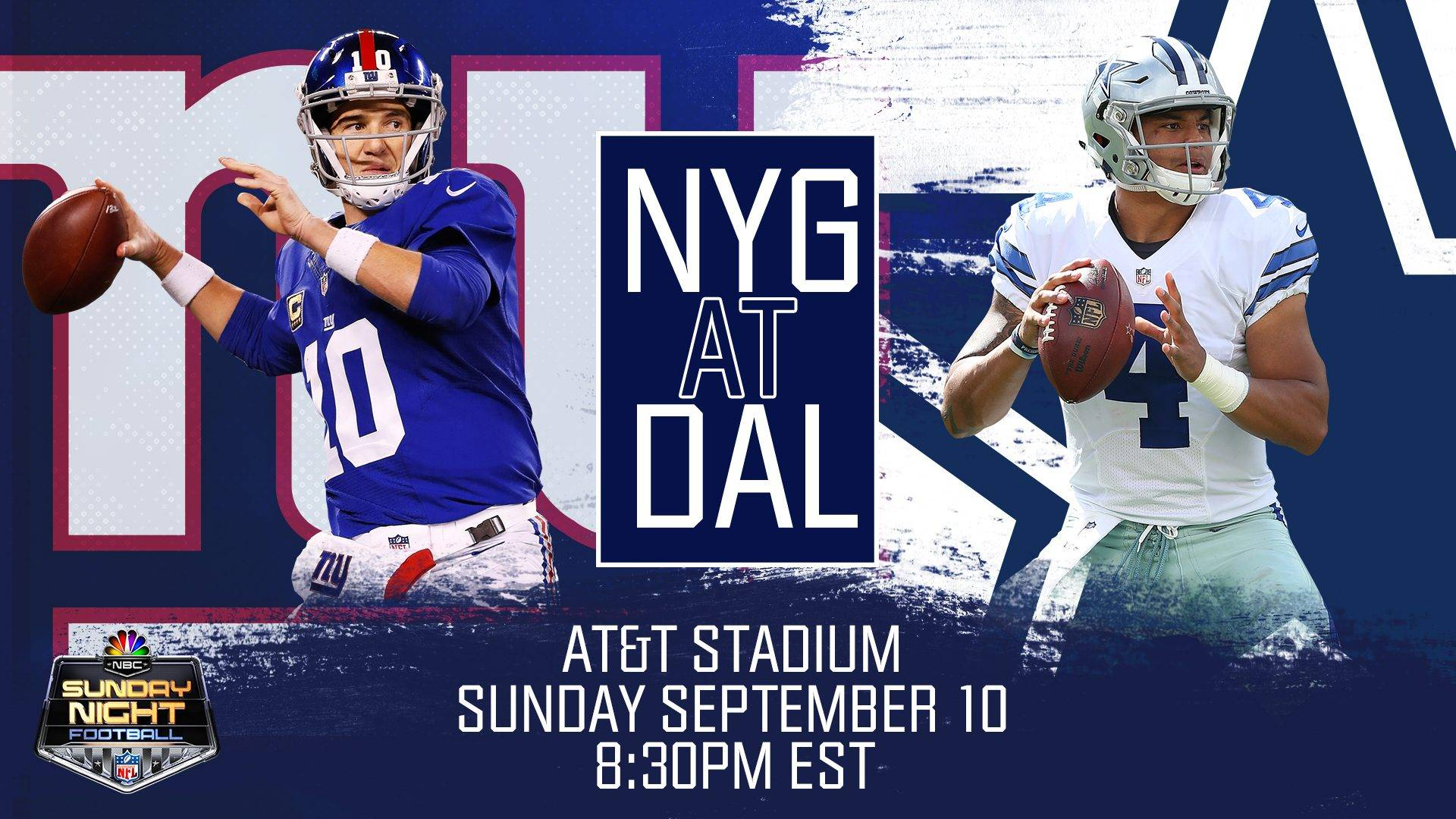 Sunday Night Football in NFL propune meciul dintre Cowboys si Giants!