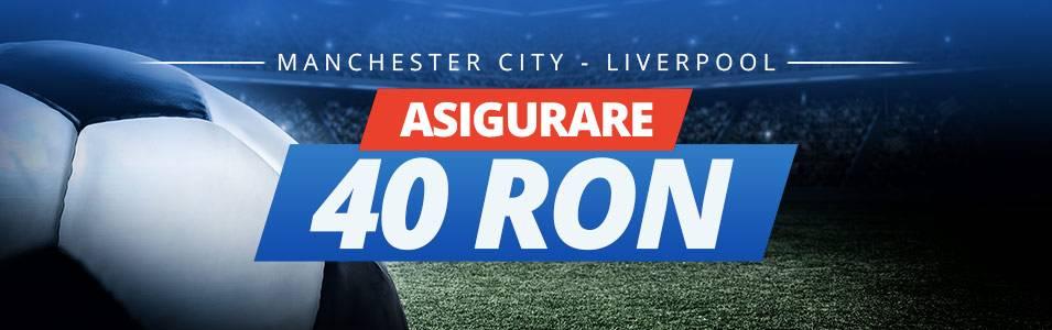 Pariaza fara risc pe meciul zilei: Man City – Liverpool