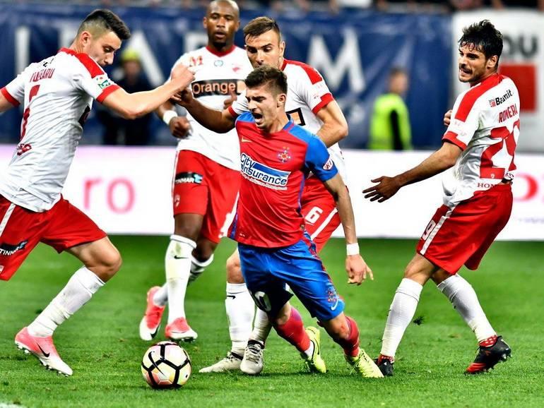 FCSB triumfa in derby