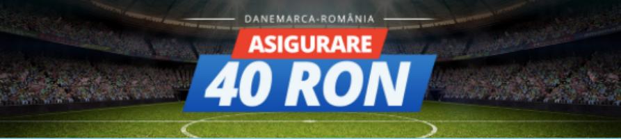 Asigurare pentru pariuri live la Danemarca vs Romania