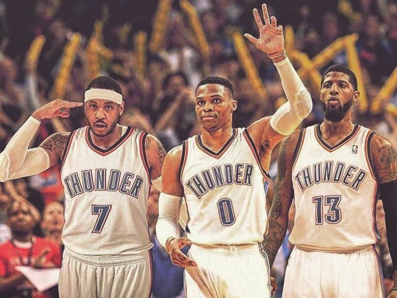 Ponturi NBA: Super Cota de azi vine de la noul Big 3 din Oklahoma!
