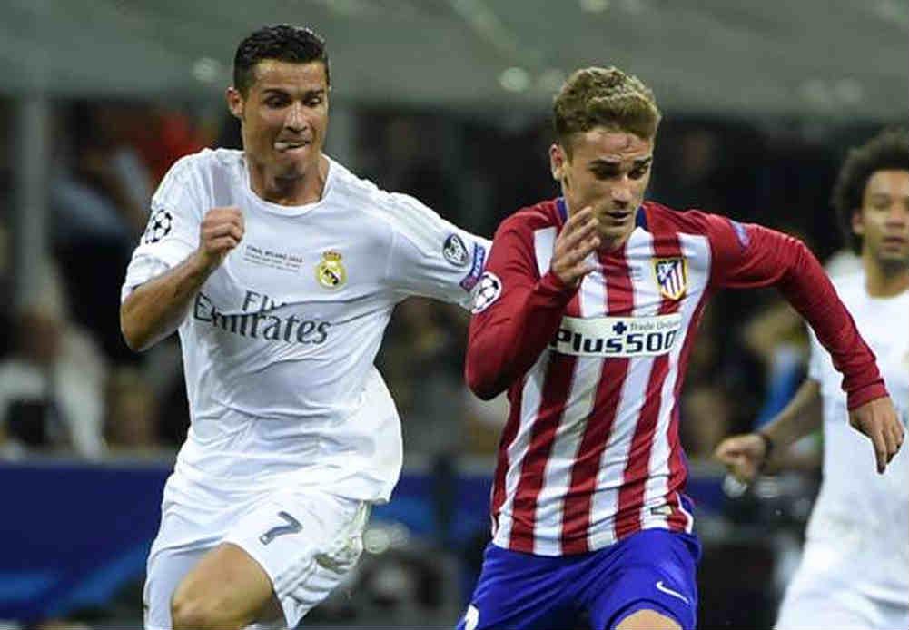Atletico Madrid – Real Madrid: cotele la pariuri