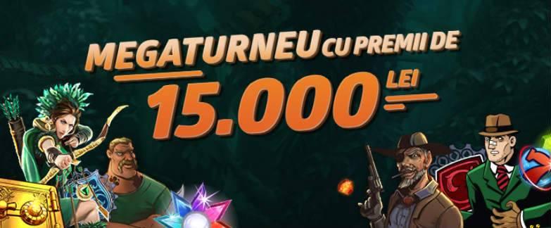 Participa la turneul cu premii totale de 15 000 RON