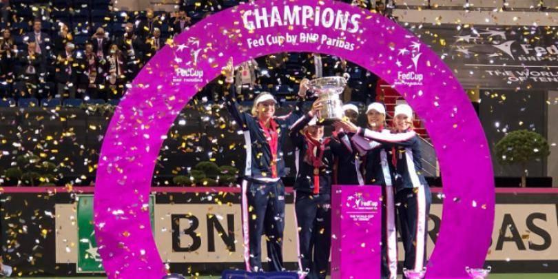 Fara Venus si Serena Williams, Statele Unite a castigat Fed Cup