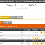 Federer – Goffin | Dimitrov – Sock @ SEMIFINALE ATP Finals