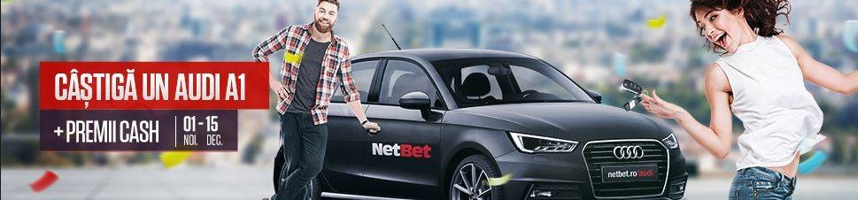 Castiga un Audi A1 jucand la ruleta NetBet
