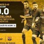 Cota 9.00 pentru Barcelona pe terenul lui Juventus