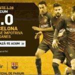Cota de nerefuzat pentru victoria Barcelonei la Leganes