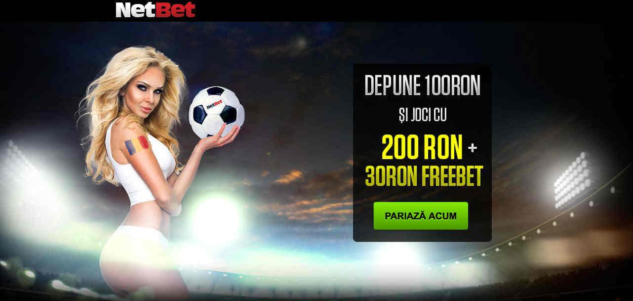 Depui 100 RON si primesti 100 RON bonus plus 30 RON freebet